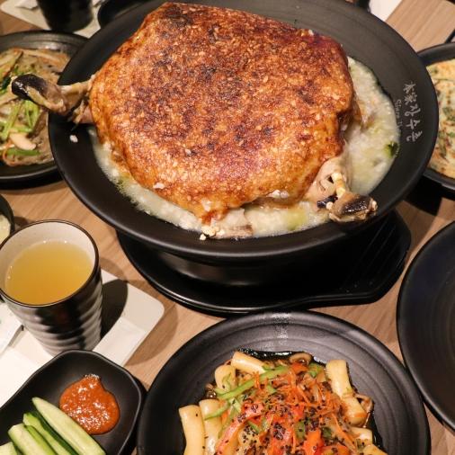 堅持原汁原味!韓國最道地的「人蔘雞鍋粑粥專賣店」進駐台北