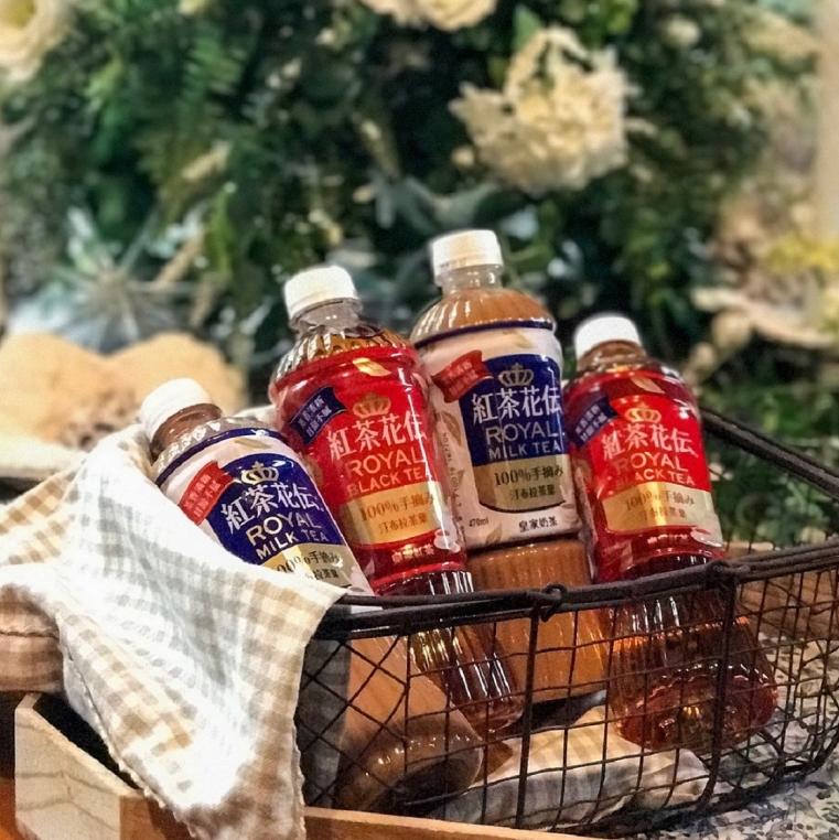 可口可樂公司在台首度進軍奶茶市場,推出日本暢銷品牌「紅茶花伝」!