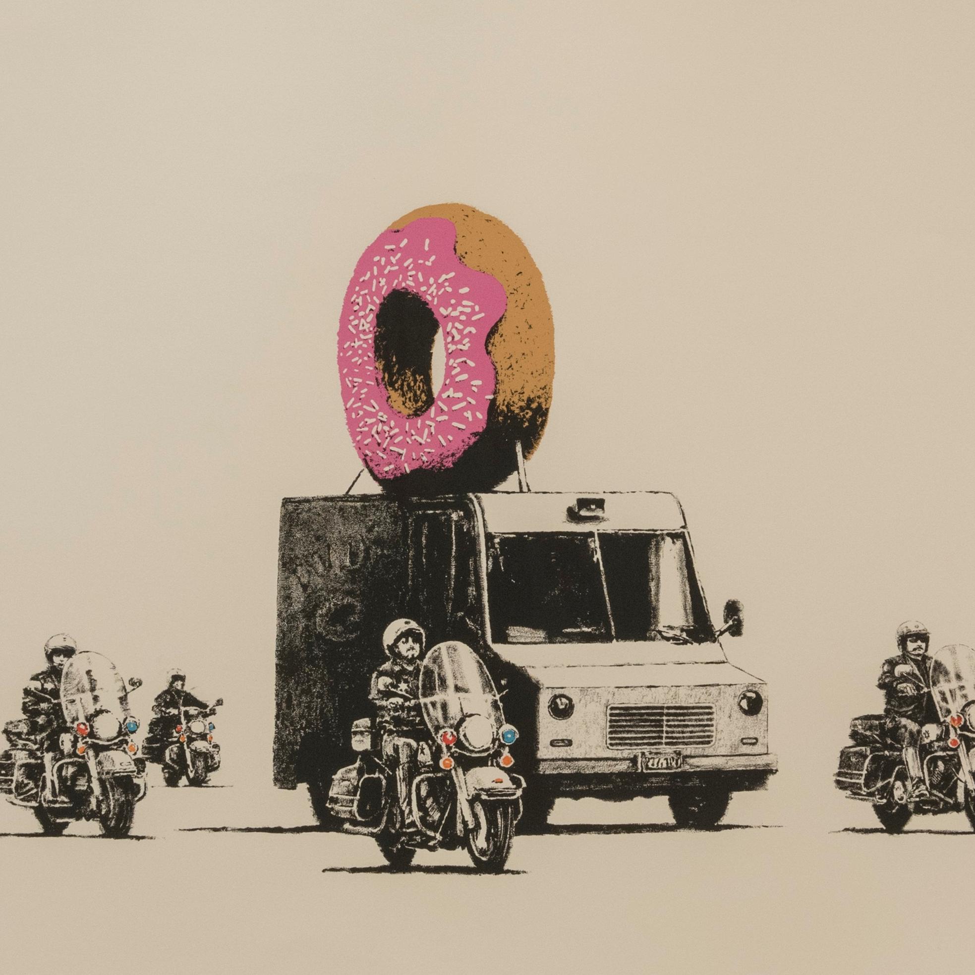 對社會最真實、幽默的批判!「班克斯:叛逆有理」台灣首場神秘街頭藝術家班克斯作品展
