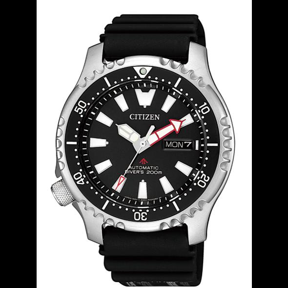亞洲限定─CITIZEN 鋼鐵河豚潛水機械錶