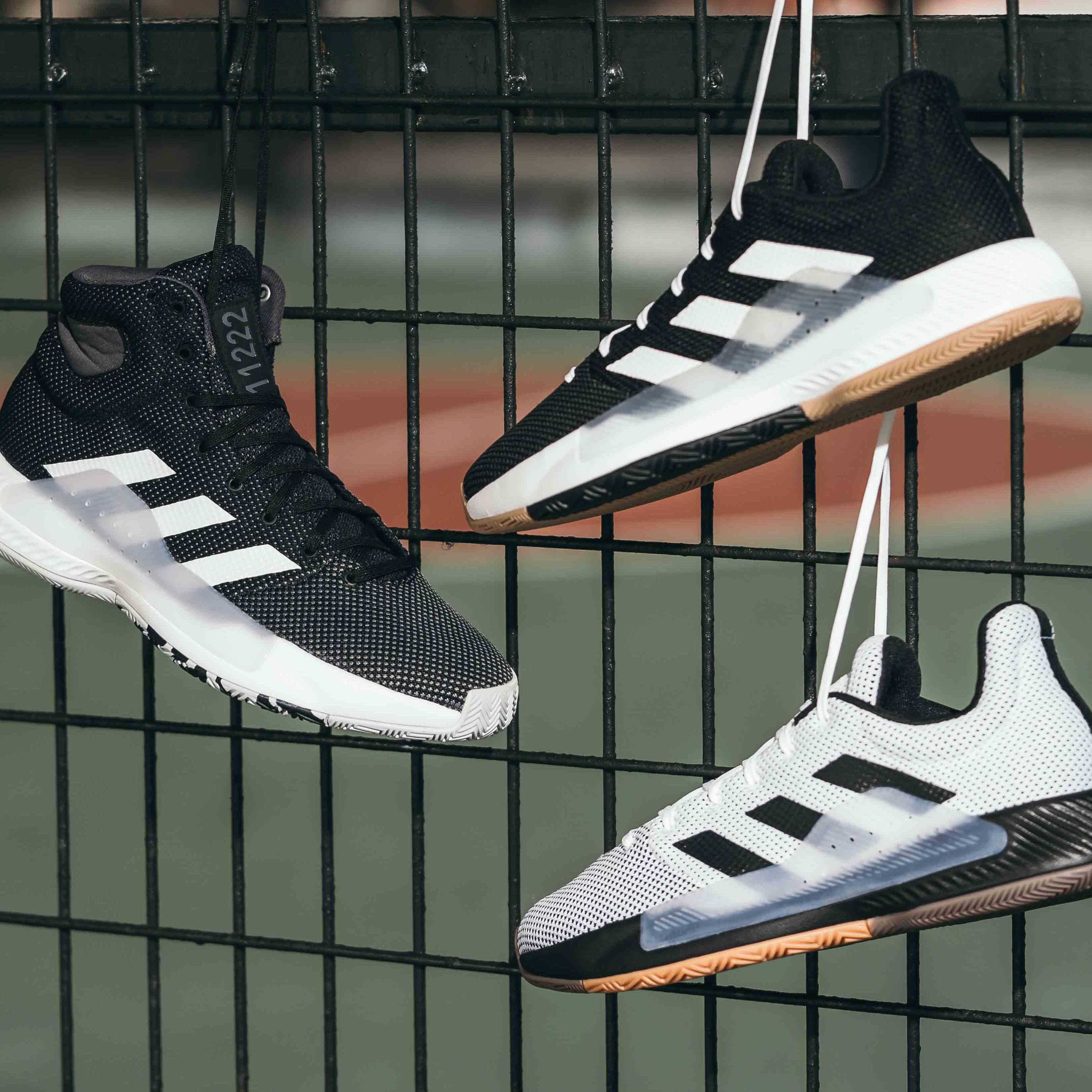 <p>adidas 全新「PRO BOUNCE MADNESS 2019 系列」鞋款強勢登場!</p>