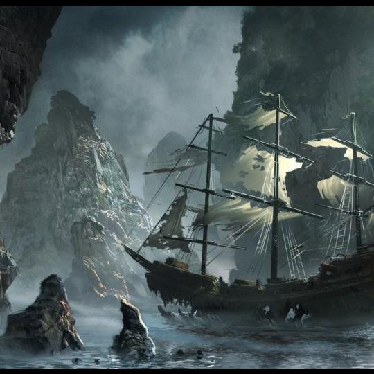 神秘航海傳說 五艘世界著名幽靈船