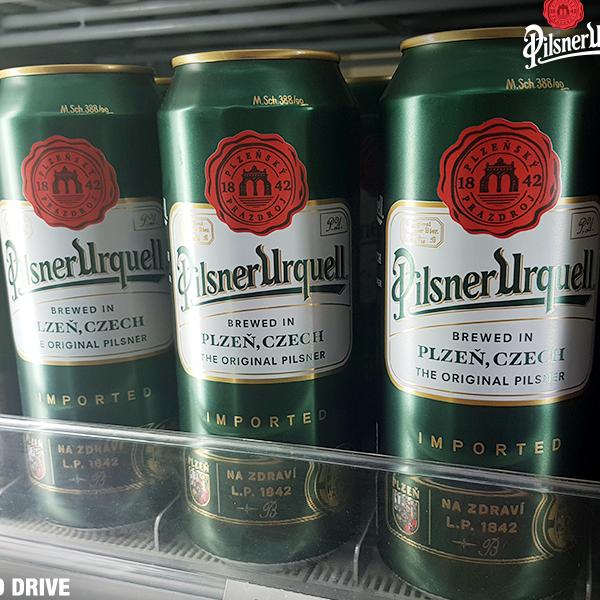 全世界第一款金黃色啤酒捷克皮爾森歐克 全家超商正式上架