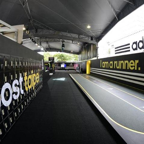 路跑者的天堂!adidas打造全方位跑步博覽會
