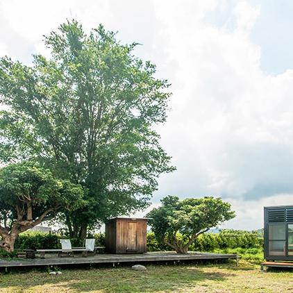 2坪小屋內應有盡有,重點是台灣就有!你有想過原來我們也能帶著小木屋去露營嗎?