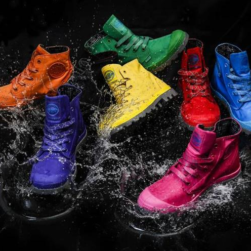 <p>雨季穿搭必備!Palladium彩色Puddle Lite防水靴</p>