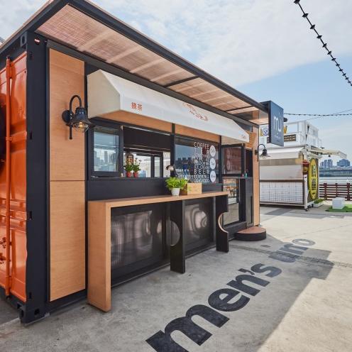 台北最熱門的打卡景點 PIER 5 貨櫃市集!必吃的 6 間貨櫃屋餐飲和 2 輛餐車