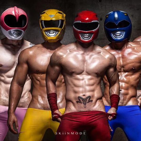 性感肌肉戰隊!?泰國攝影單位「Skiinmode」性感金剛戰士系列瘋傳!