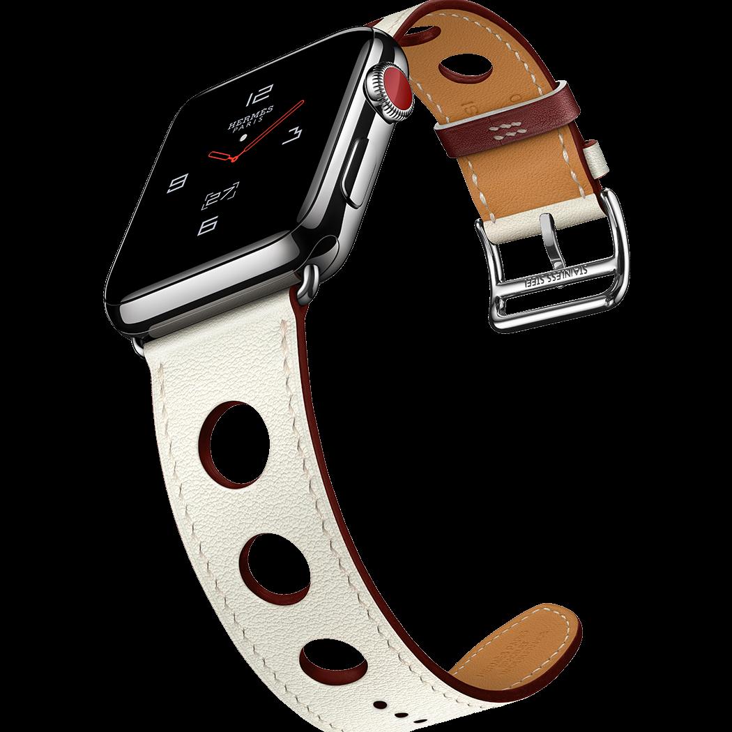 2018 年愛馬仕春季 Apple Watch Hermès 系列新色錶帶,優雅登場!