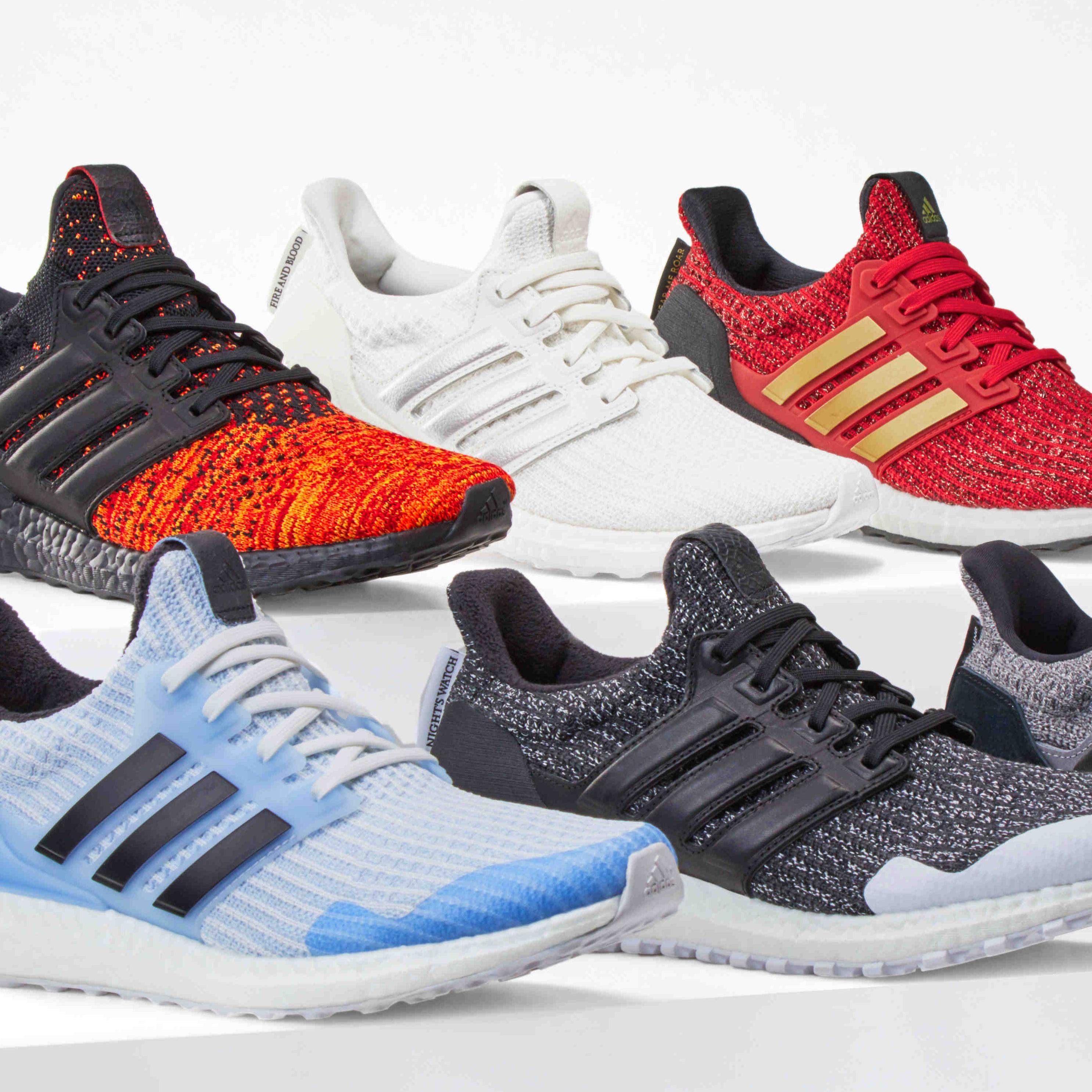 <p>adidas Ultraboost x《冰與火之歌:權力遊戲》限量聯名鞋款</p>