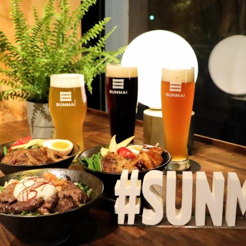 精釀啤酒這樣配!SUNMAI BAR 推出 3 款晚間時段「限定丼飯」