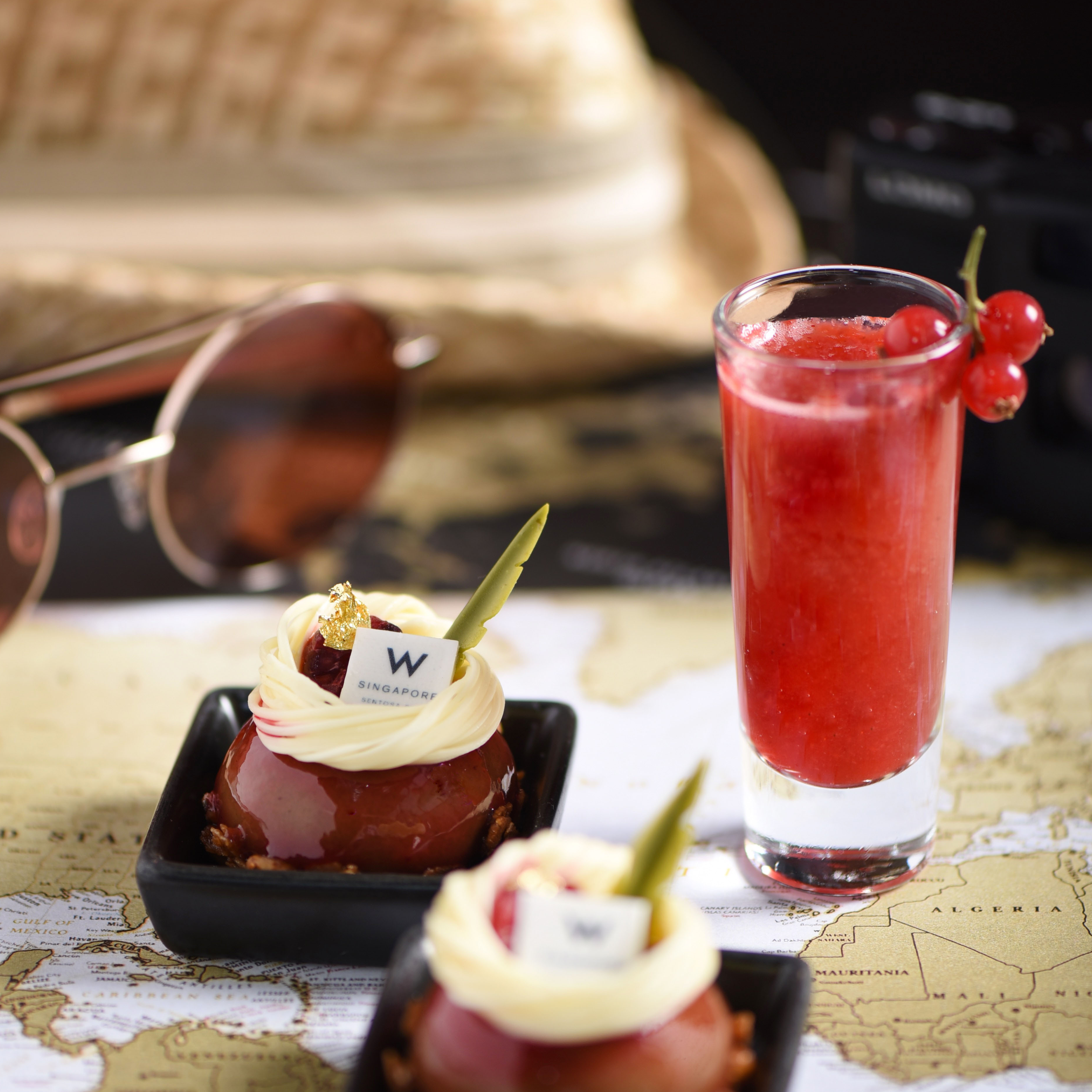 YEN Bar 精選亞太各地 W 飯店經典品項,推出「W 漫遊」全新下午茶!