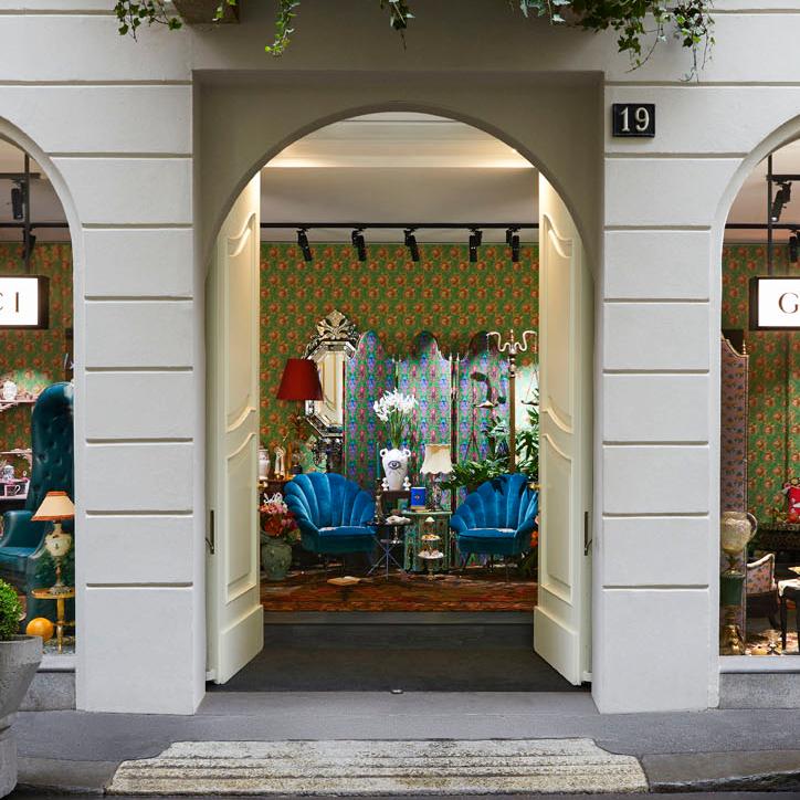 <p>Gucci「Décor」家飾系列登陸米蘭限時店鋪!</p>
