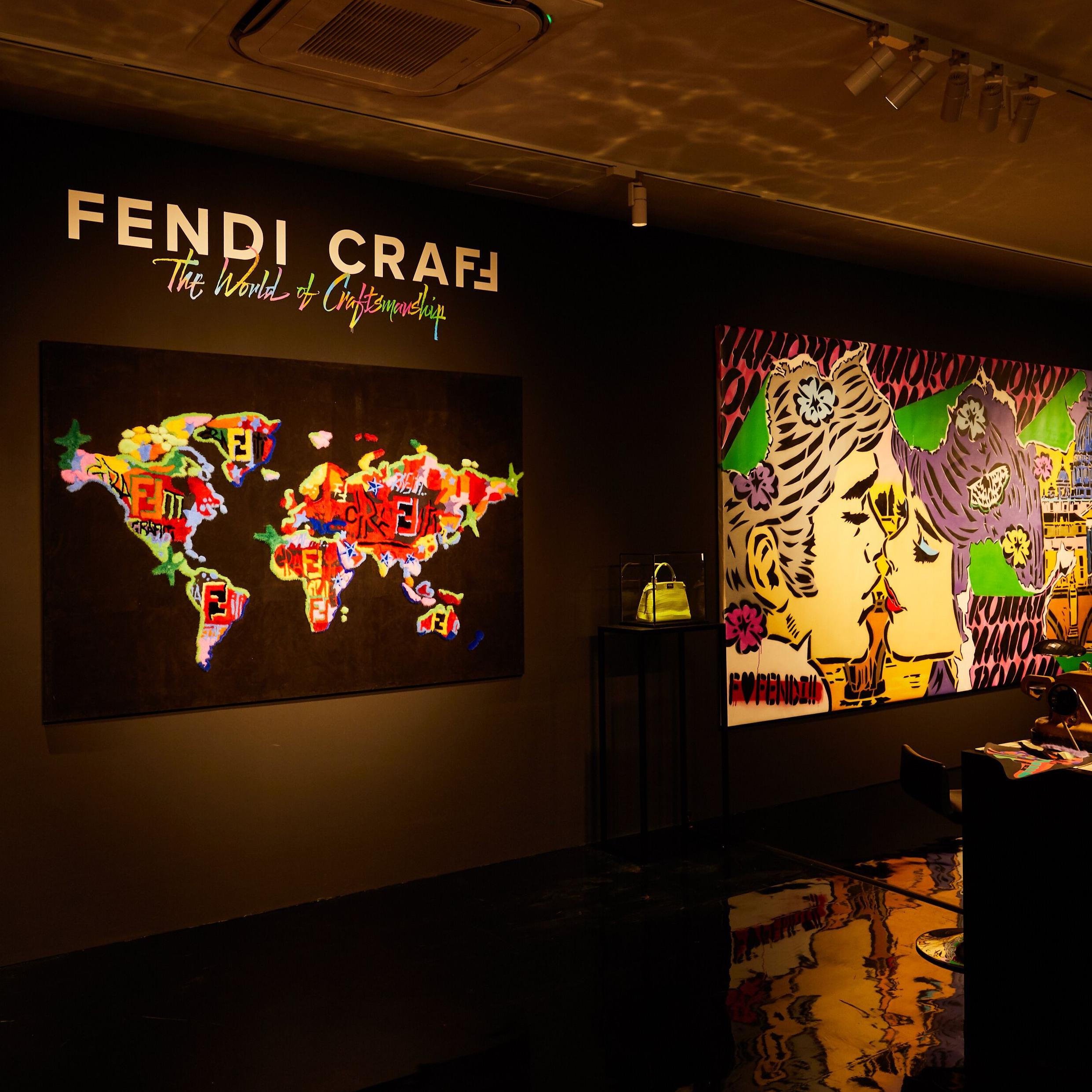 讚揚FENDI 的當代高超技藝與創意─「FENDI CRAFF」展