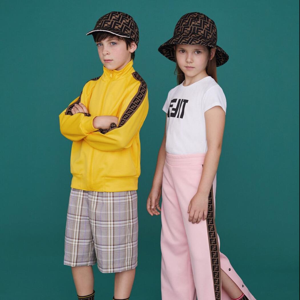 <p>玩味個性─FENDI KIDS 2019 年春夏系列</p>