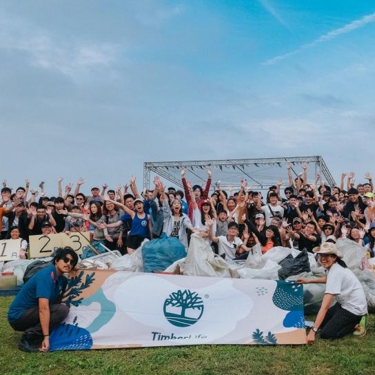 逾 200 位淨灘志工以行動守護台灣海岸!Timberland 力邀活力女星大霈共同舉辦「地球英雄好朋友的淨灘日」