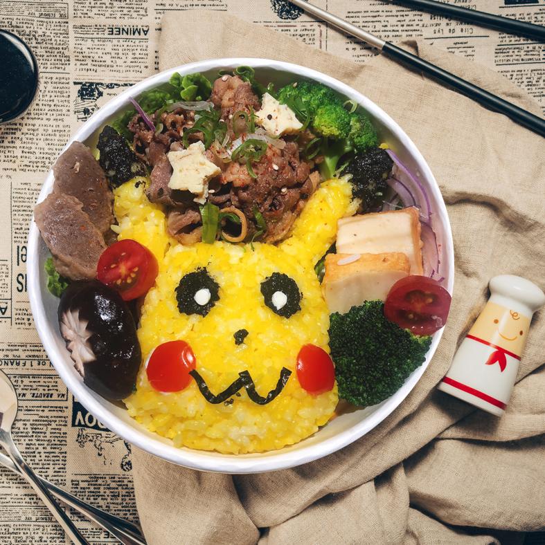 <p>卡通角色化身餐桌美食!「戶戶送」Deliveroo 攜手六家餐廳限量推出超萌主題餐點</p>