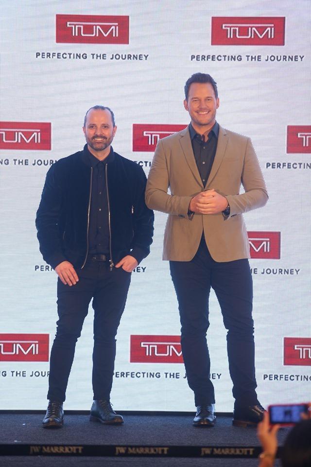 TUMI攜手「星爵」Chris Pratt現身香港TUMI LOFT!