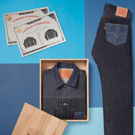 世上首條單寧褲的誕生─LEVI'S®501®丹寧褲