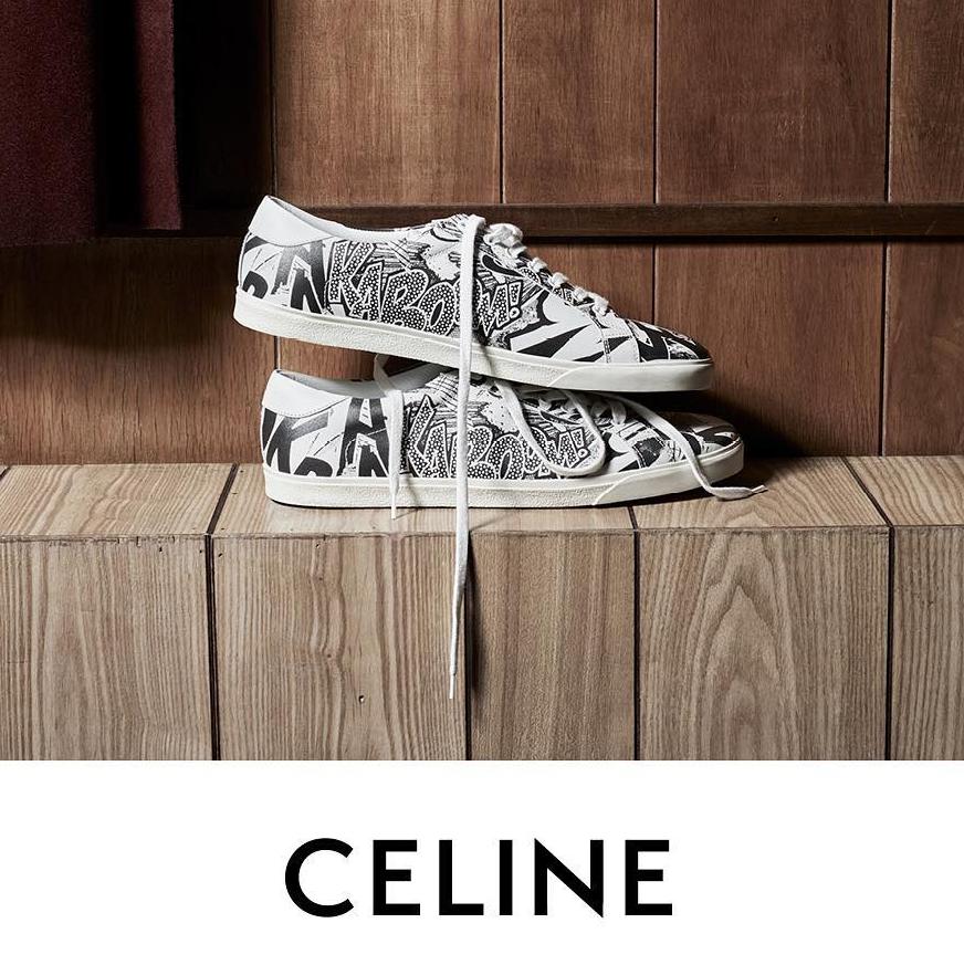 <p>CELINE 2019 春夏頂級球鞋系列</p>