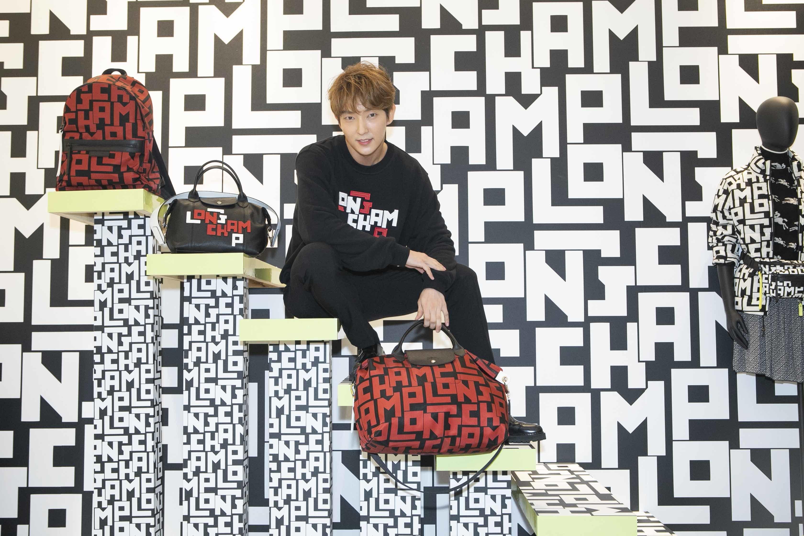 Longchamp 攜手「韓流巨星」李準基,三大重點演繹街潮型格!