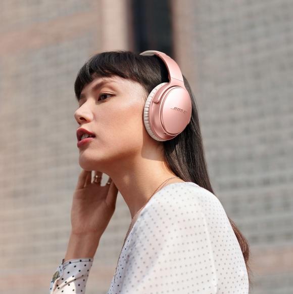 輕鬆開啟美好音樂時光!Bose 推出 QuietComfort 35 II 無線消噪耳機「玫瑰金限定版」