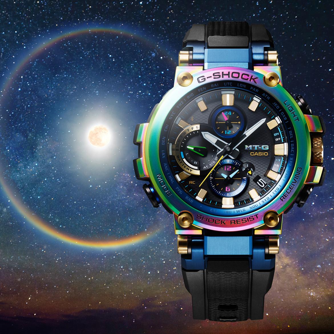 <p>CASIO MT-G 系列 20 週年紀念錶款 MTG-B1000RB</p>