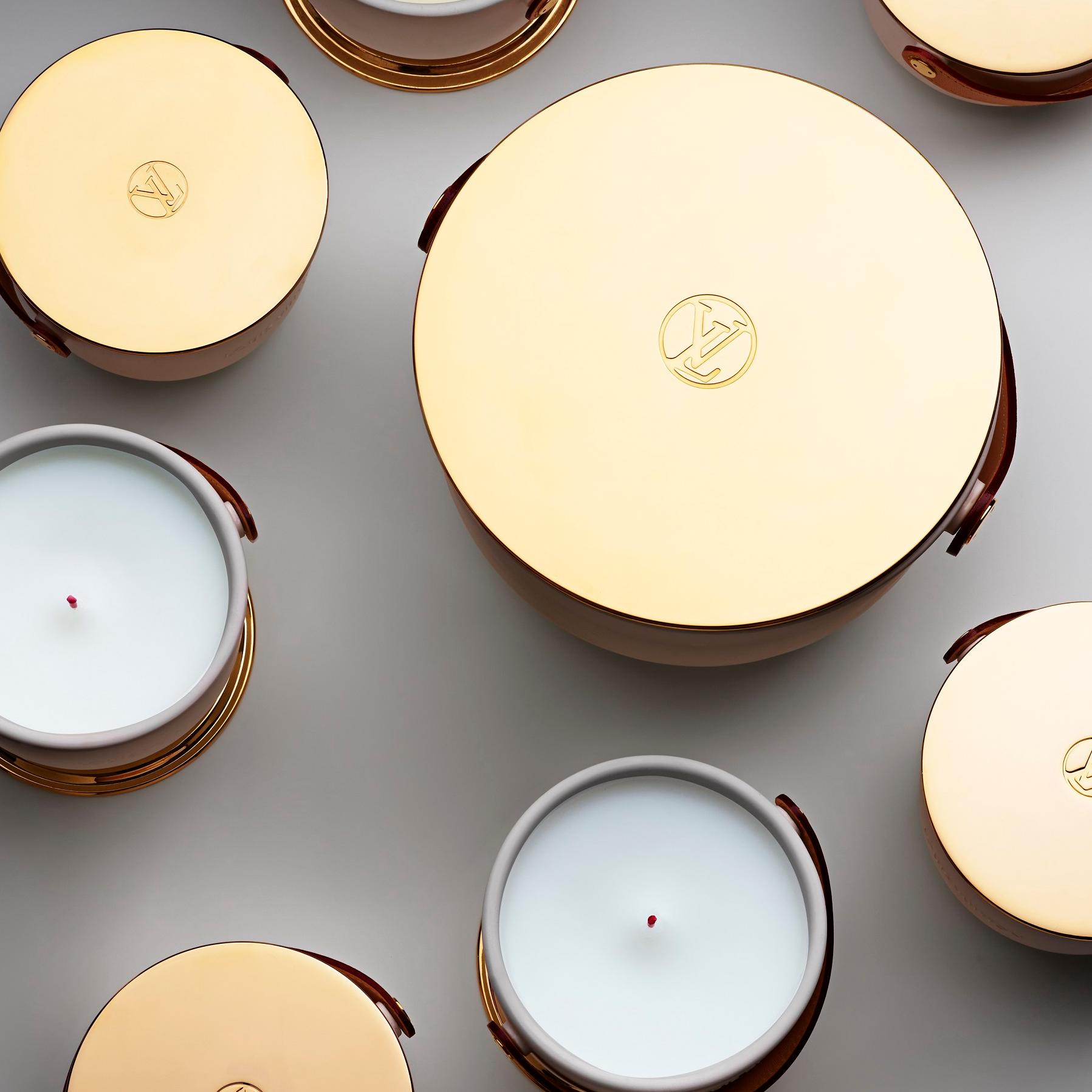<p>路易威登全新香氛蠟燭系列</p>