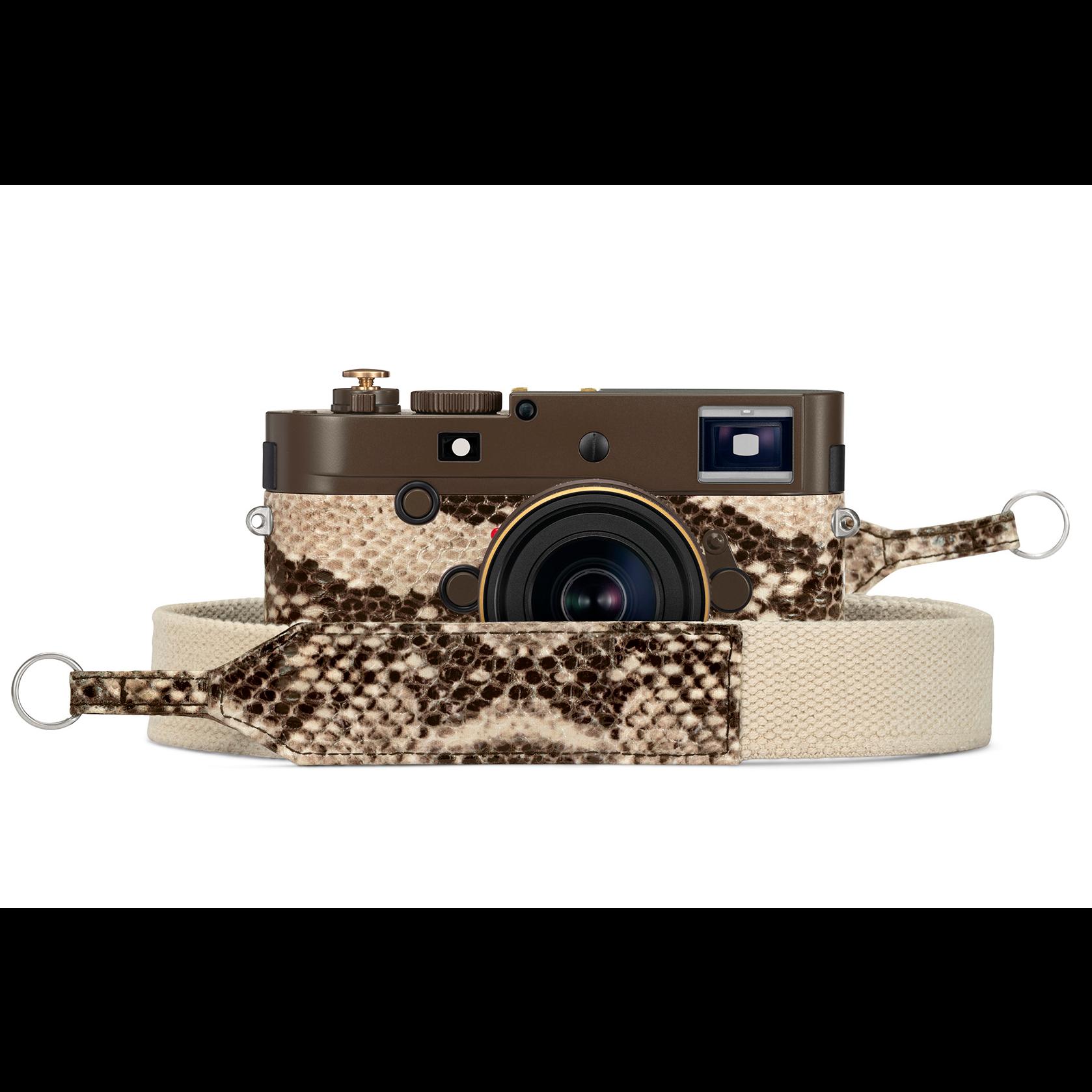 Leica「漂泊者」連鏡頭都棕褐色 蟒蛇紋套裝全球限量發售125套