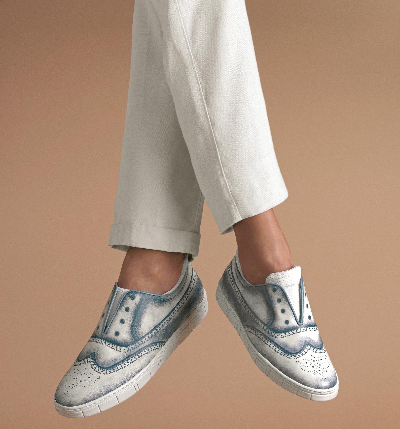當紳士鞋遇上街頭塗鴉─a.testoni「影子」系列紳士鞋