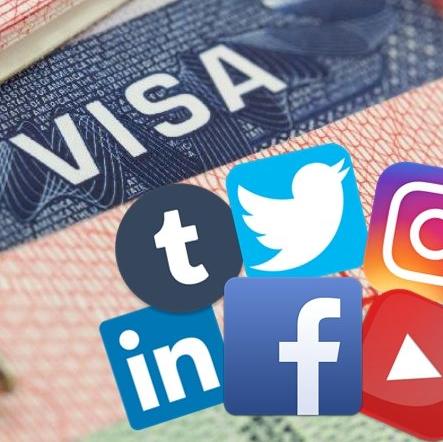 美國新簽證規定  申請前需遞交社交媒體帳戶
