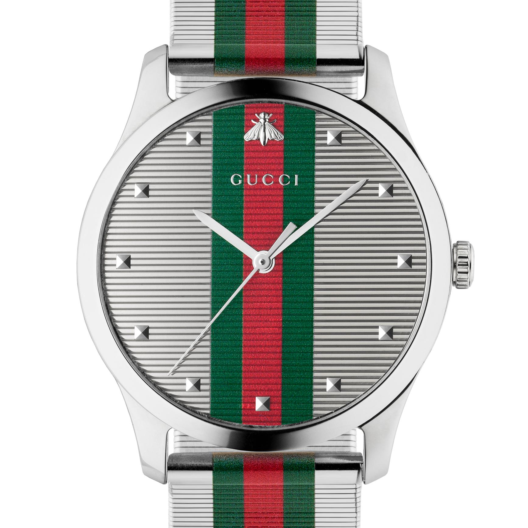 <p>盛夏奢華─Gucci 2019 腕錶系列新篇章</p>