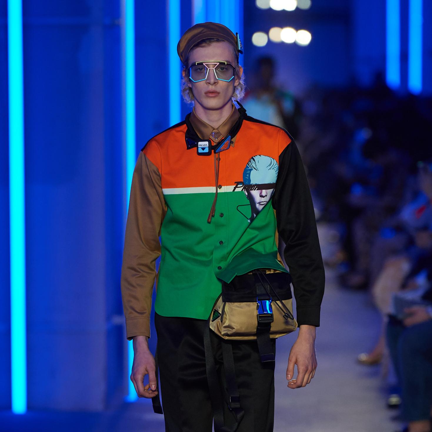 時尚的無限可能─PRADA 2020春夏男裝系列