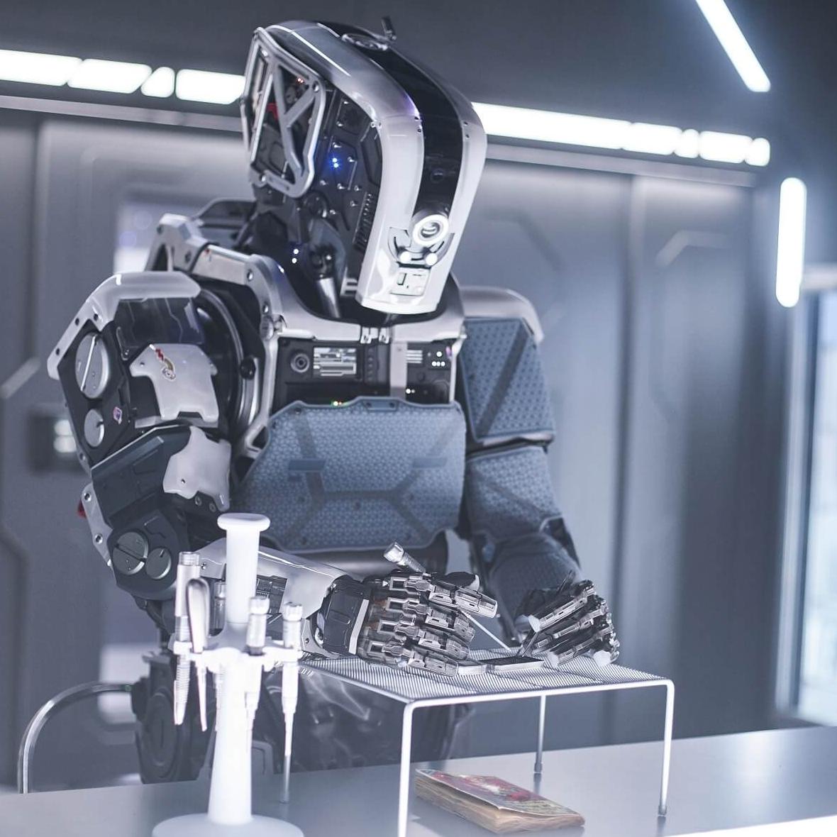 《阿凡達》特效團隊打造 《AI終結戰》機器人演員竟「近在眼前」