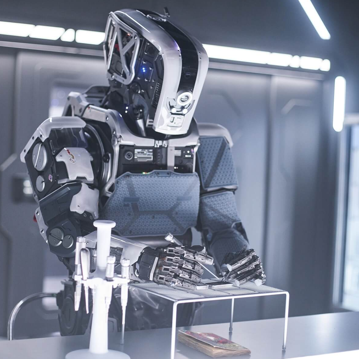 <p>《阿凡達》特效團隊打造  《AI終結戰》機器人演員竟「近在眼前」</p>