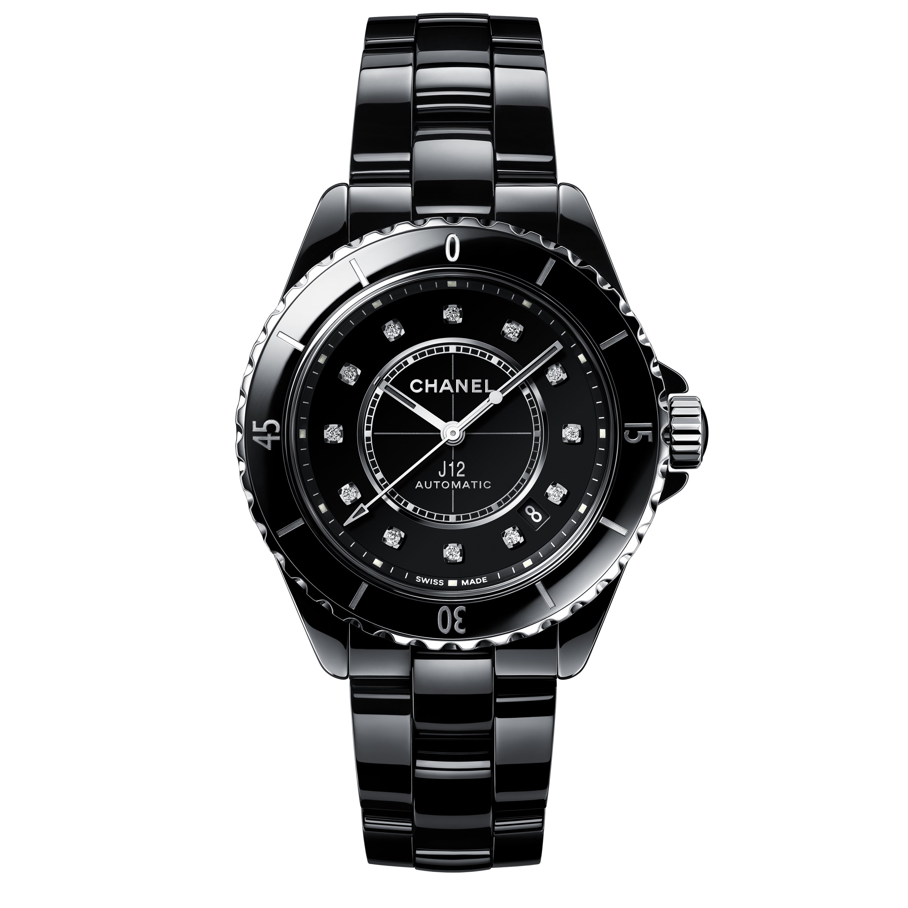永恆經典─CHANEL 全新 J12 腕錶系列