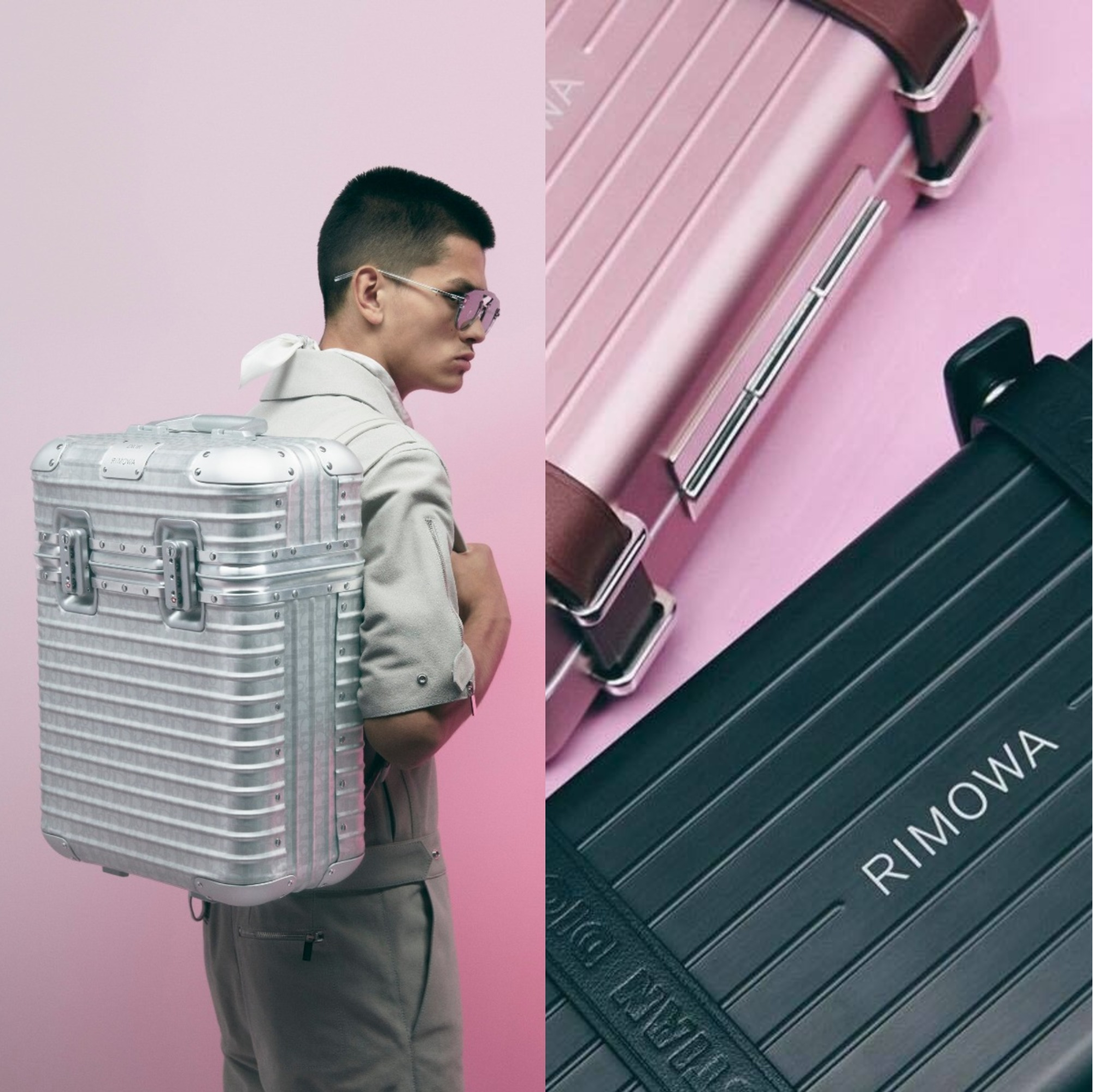 Dior 攜手 RIMOWA 打造「DIOR and RIMOWA」特別系列!
