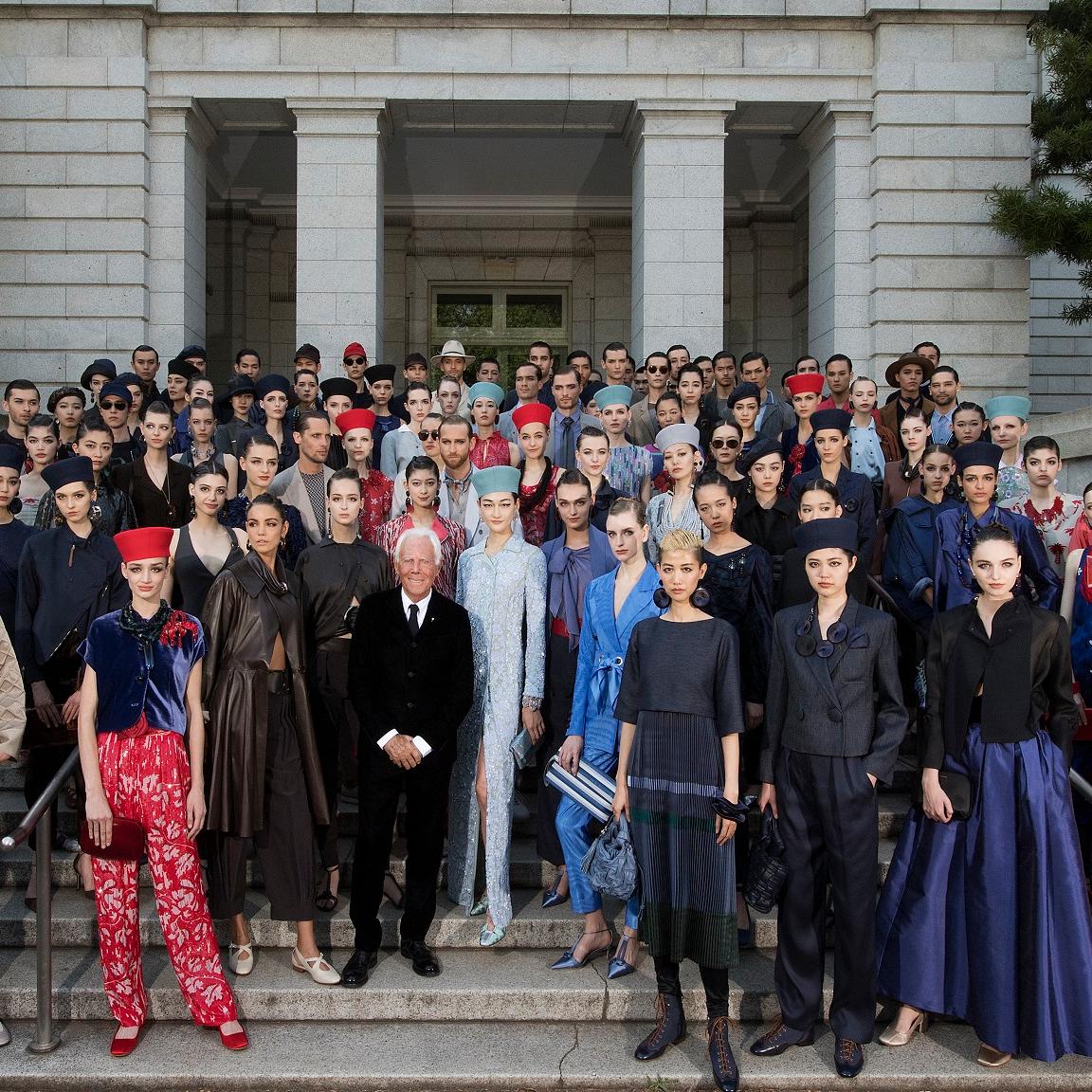 <p>GIORGIO ARMANI  赴東京呈獻 GIORGIO ARMANI 2020 早春男女裝系列</p>