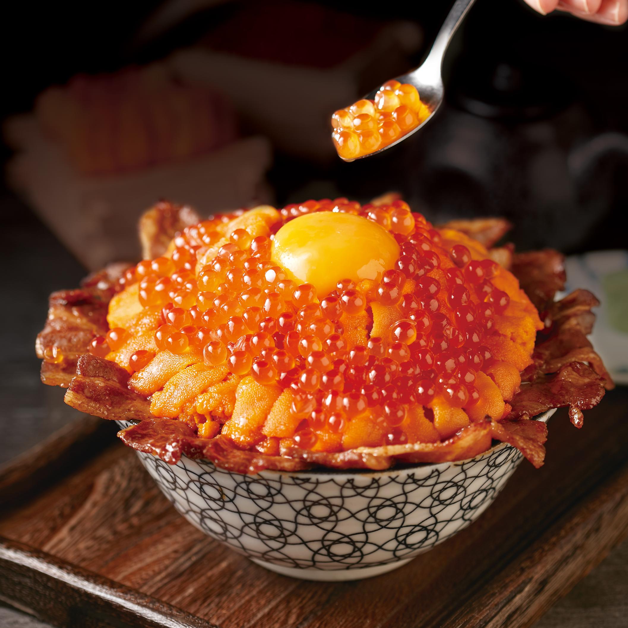 爆量海膽與鱒鮭魚卵限定丼飯每日只有 20 份!開丼特選夏季「鮮甜韓國馬糞海膽」推出三款全新菜色