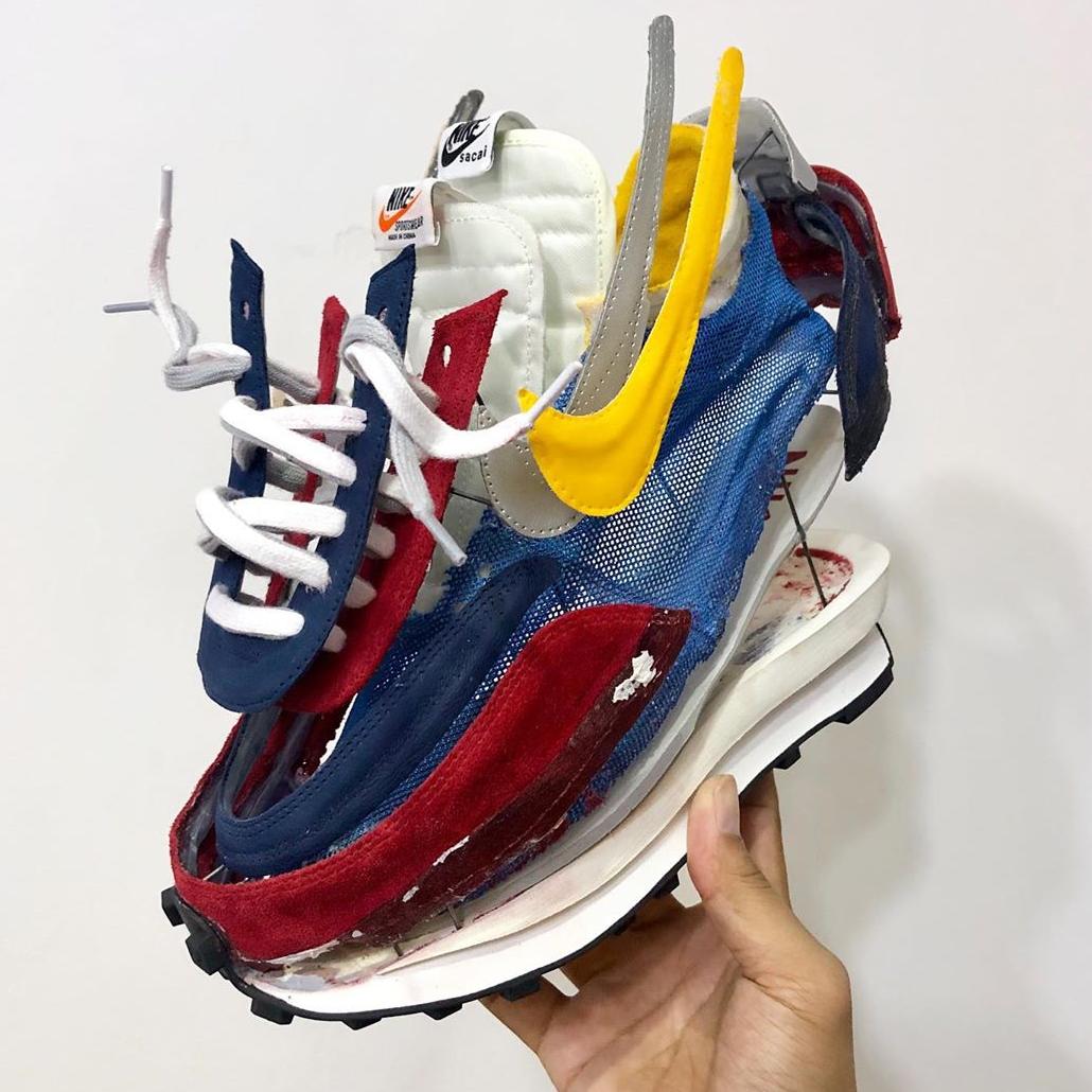 <p>將Nike x Sacai分屍 韓國球鞋藝術家「拆鞋」超藝術有型!</p>