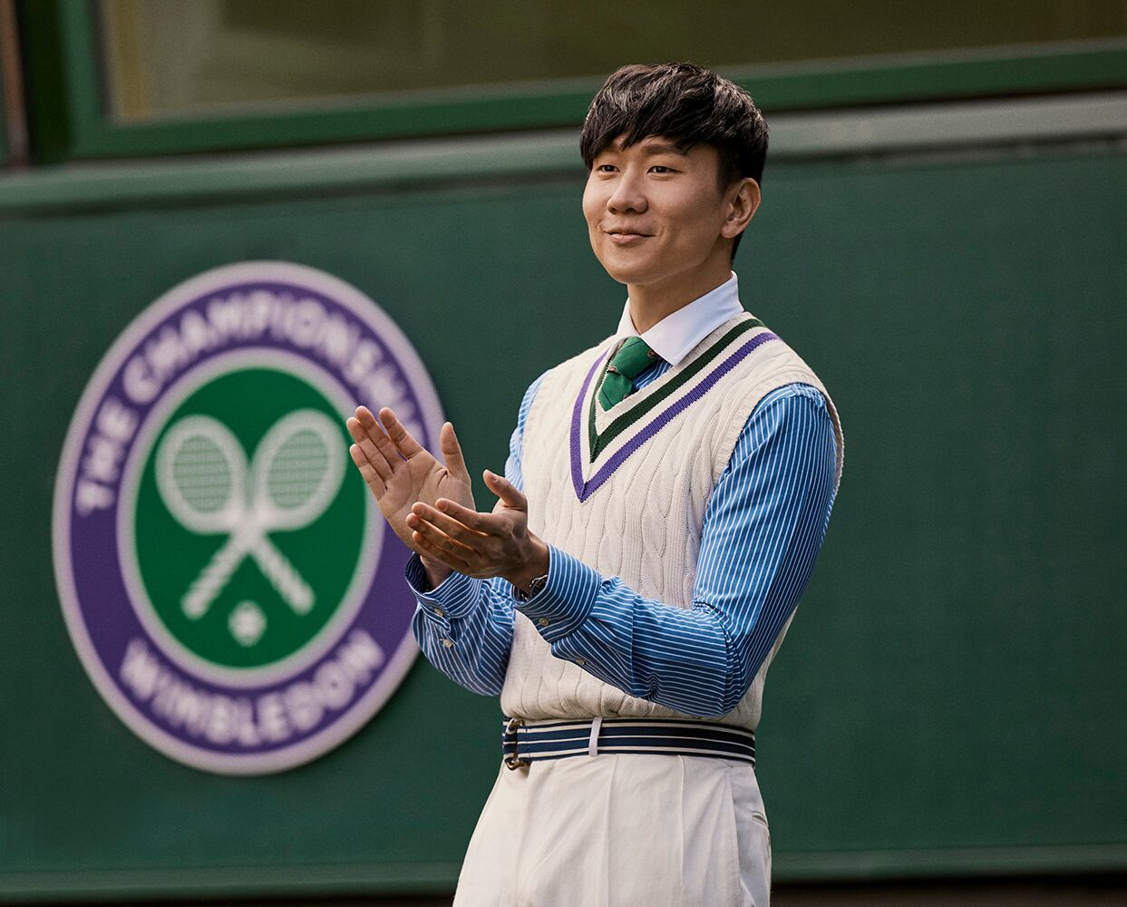 Polo Ralph Lauren X 2019 溫布頓網球錦標賽形象大使林俊傑