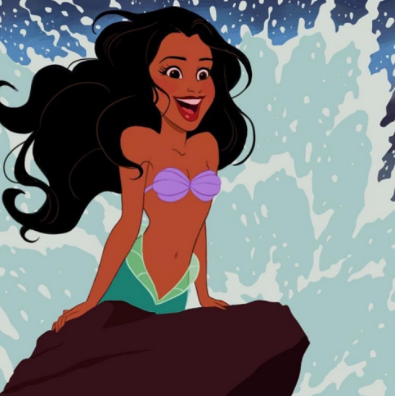 真人版《小美人魚》皮膚黑了 迪士尼選Halle Bailey當愛麗兒公主?