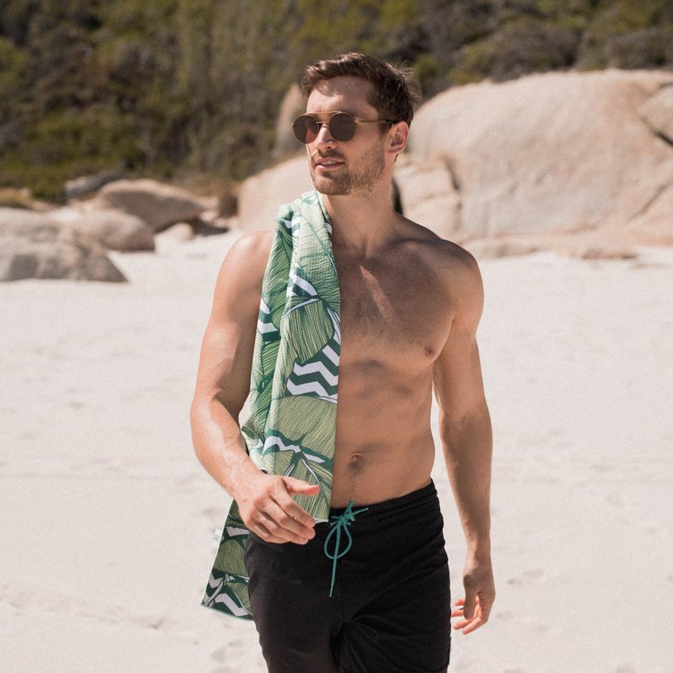 夏日超人氣單品!歐美網紅必備沙灘毛巾