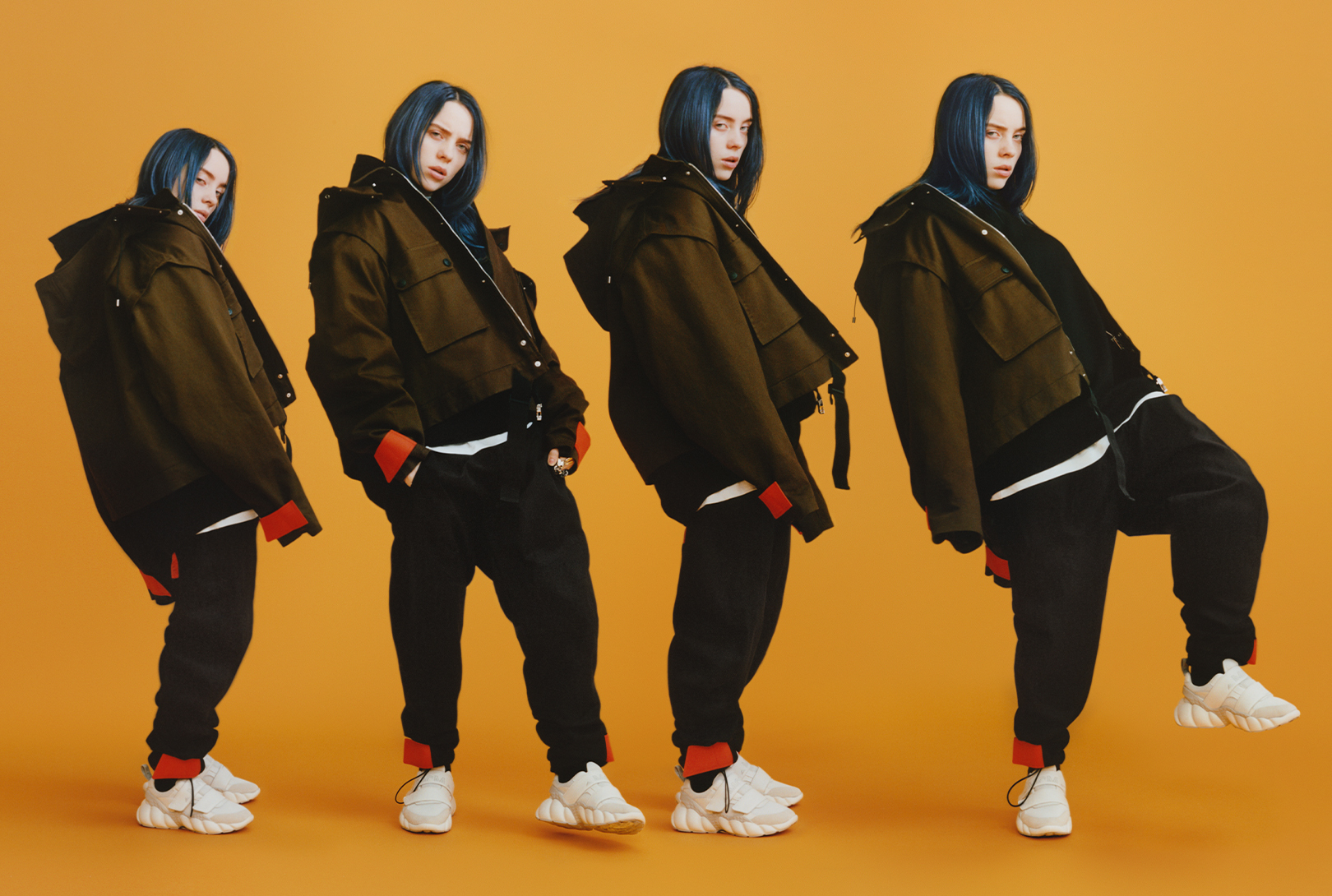 Billie Eilish 演繹 MCM 2019 秋冬系列大片
