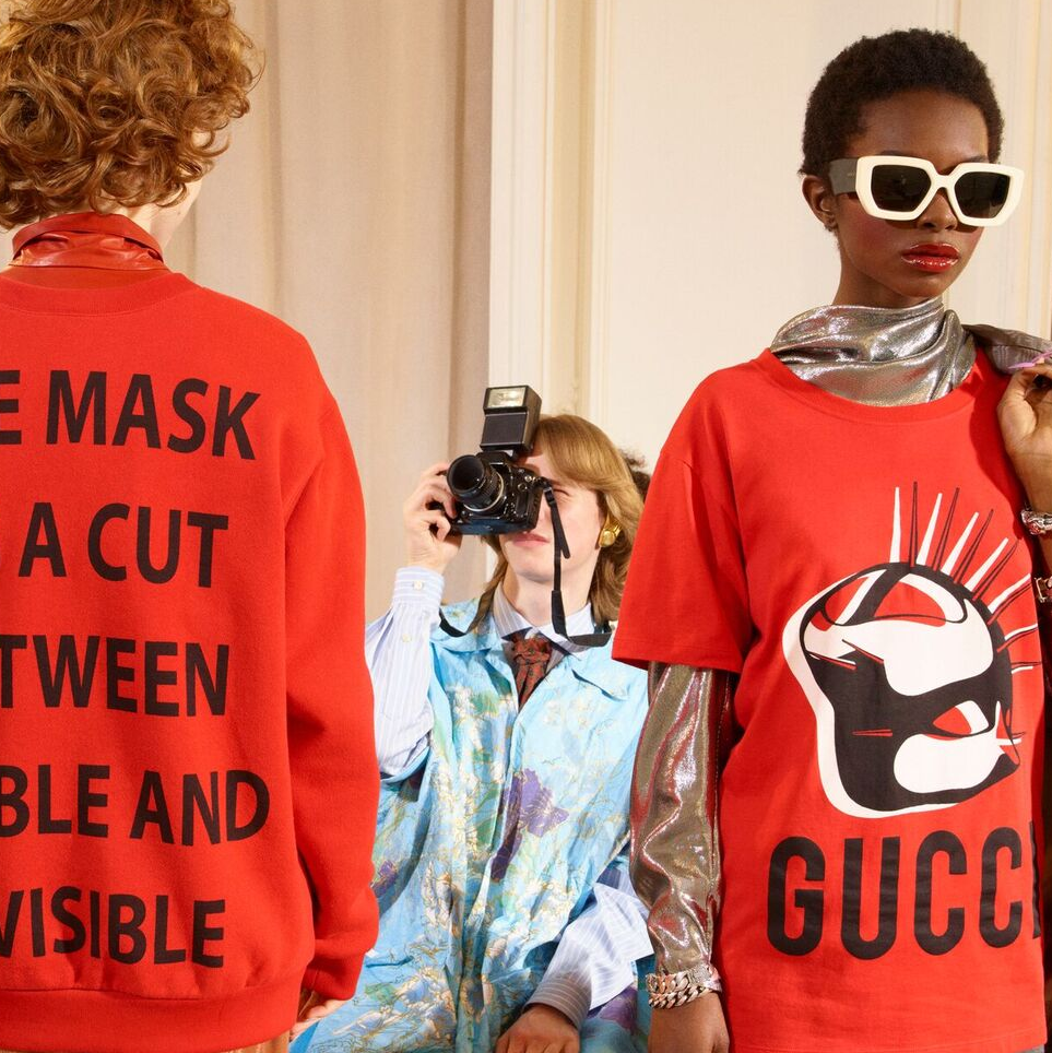 Gucci 宣言系列「GUCCI MANIFESTO」COLLECTION