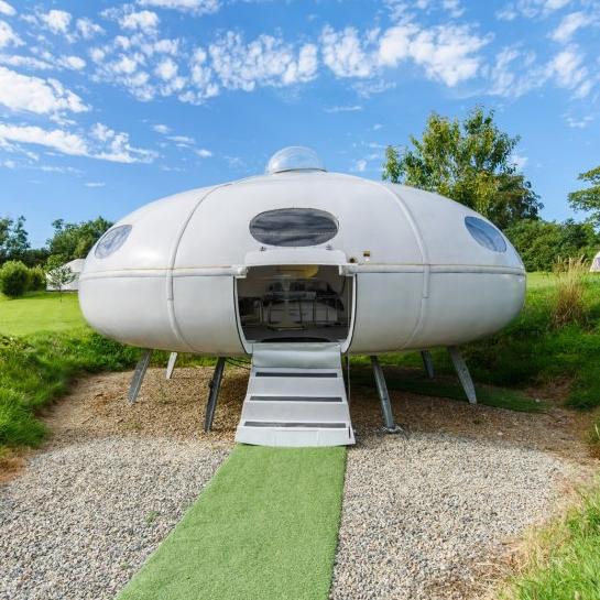 人類登月50週年 11美元即可住太空艙、UFO