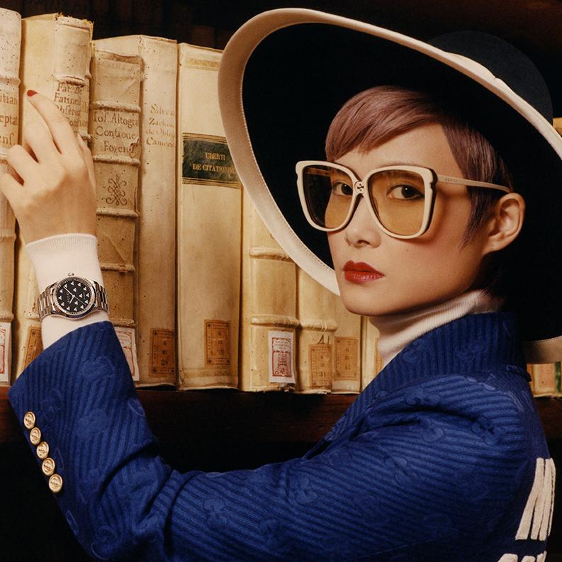 Gucci 全新腕錶首飾形象廣告
