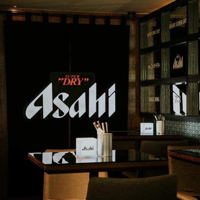 啤酒的完美餐食!Asahi SUPER DRY 朝日啤酒攜手全球知名主廚合作,打造首間快閃旗艦概念店