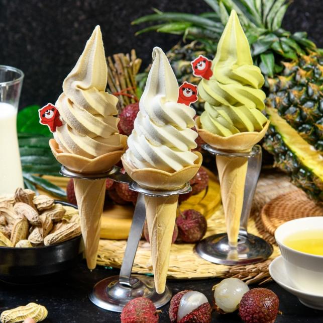全台都能吃到排隊冰品!大心 X 蜷尾家聯手推出 3 款夏季限定聯名霜淇淋