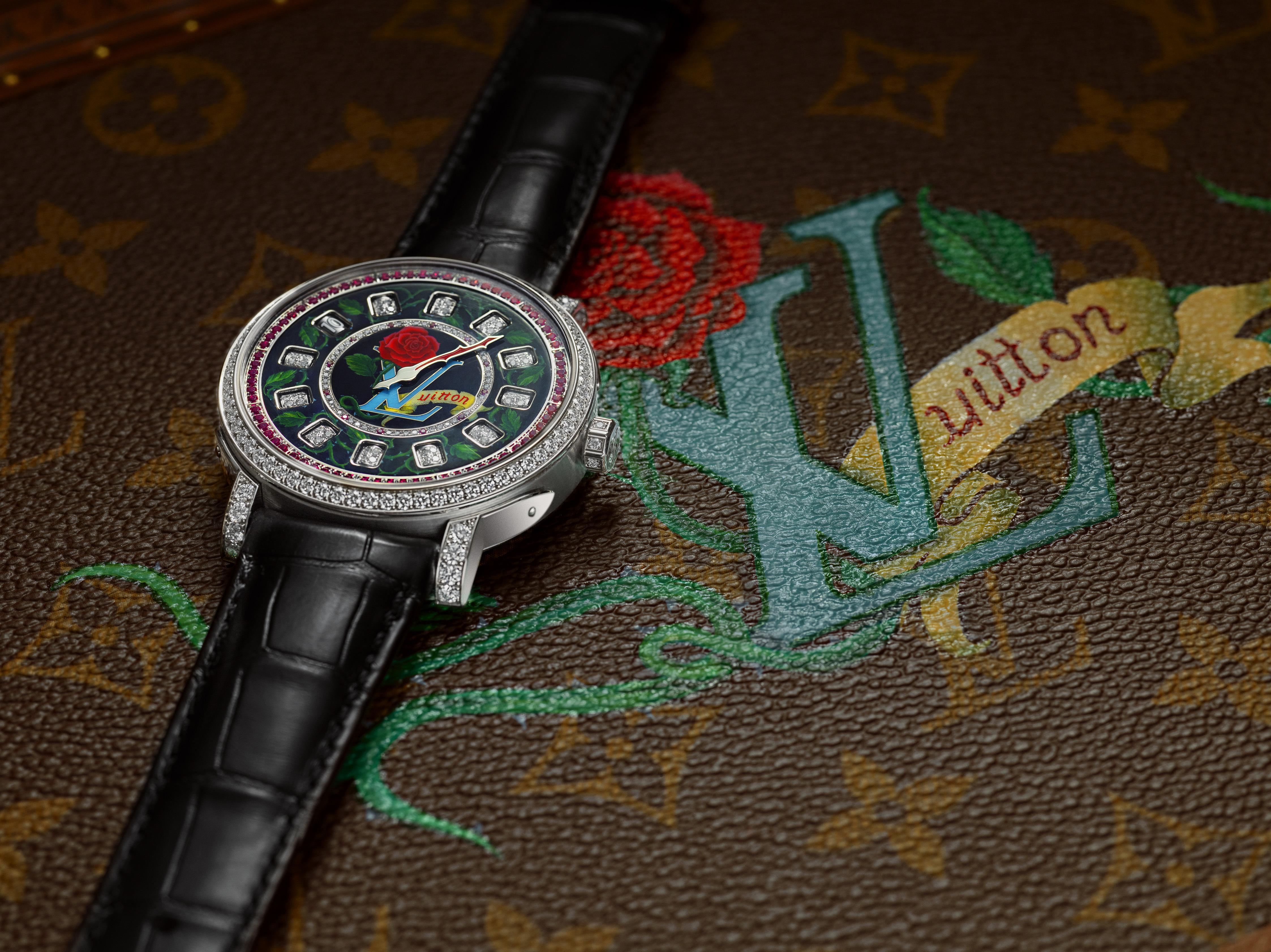 高級製錶工藝─路易威登「Escale Spin Time Only」腕錶